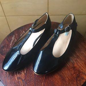 Black Patent UO T-Strap Mary Jane Flats